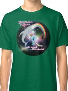 Friendship in Space Classic T-Shirt