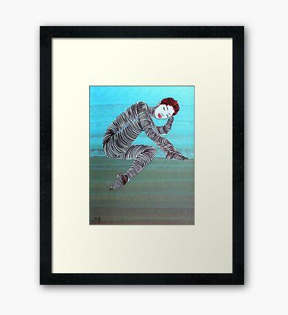 Lib 1147 Framed Print