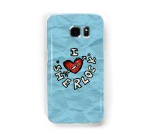 I ♥ Sherlock Samsung Galaxy Case/Skin