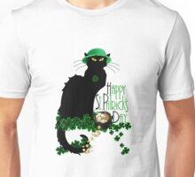 St Patrick's Day - Le Chat Noir Unisex T-Shirt