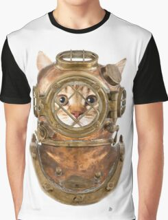DiverCat Graphic T-Shirt