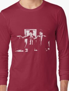 Pulp Fiction Laurel and Hardy Long Sleeve T-Shirt