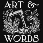Art & Words Black Shirt by Brigid Ashwood