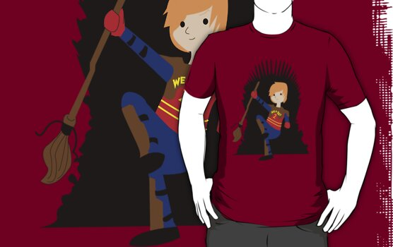 Weasley Is Our King by pirateprincess