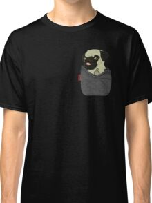 Pug You Pocket Classic T-Shirt