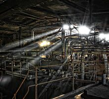 Lights and Tubes by Jean-Claude Dahn