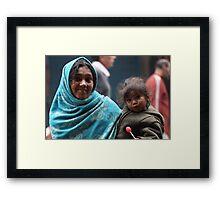 Spare a Rupee? Framed Print