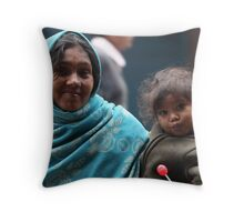 Spare a Rupee? Throw Pillow