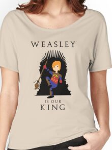 Weasley Is Our King 2 Women's Relaxed Fit T-Shirt