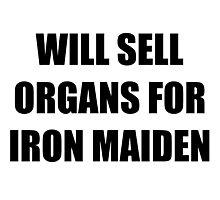 Organs Iron Maiden Photographic Print