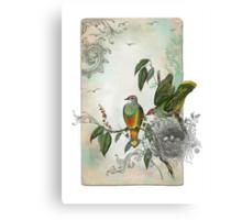 Nesting Birds Canvas Print