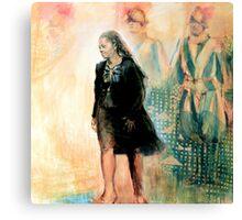 Progress and tradition Canvas Print