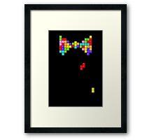 Tetris Papillon Framed Print