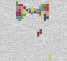 Tetris Papillon Kids Tee