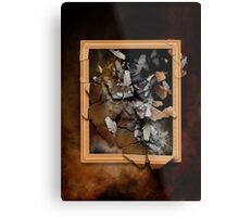 The Broken Frame Metal Print