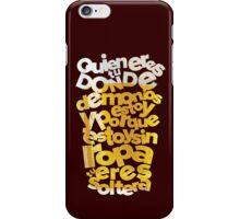 "Hangover ""Spanish version"" iPhone Case/Skin"