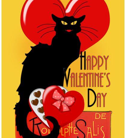Le Chat Noir Valentine   Sticker