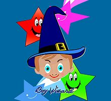Boy Wizard iPhone case design by Dennis Melling