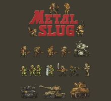 Metal Slug - Design 03 by Greg Little