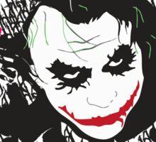Inkblot Joker Sticker