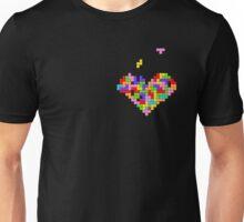 Tetris Heart Unisex T-Shirt