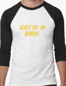 Scott me up, Beamie Men's Baseball ¾ T-Shirt