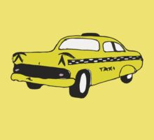 Cute Yellow Cab by Zozzy-zebra