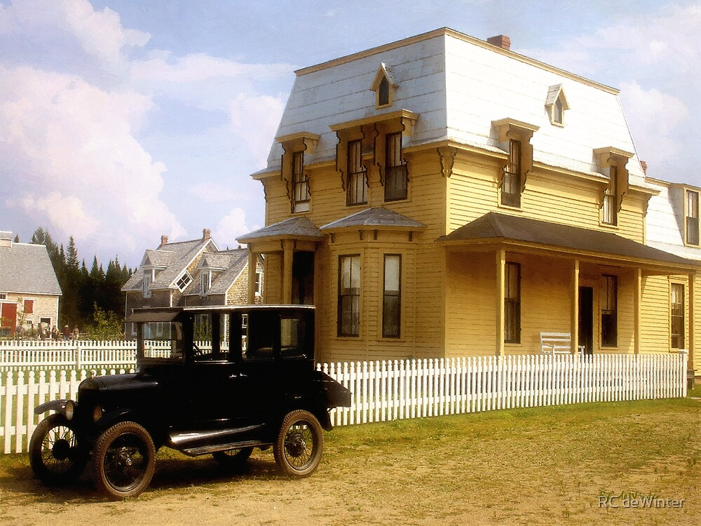 Stepping Back in Time by RC deWinter