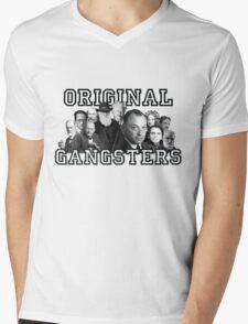 Original Gangsters Mens V-Neck T-Shirt
