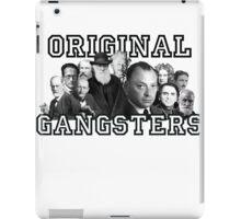 Original Gangsters iPad Case/Skin