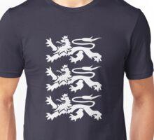 3 Heraldic Lions Unisex T-Shirt