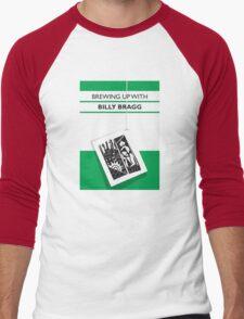 Brewing Up With Billy Bragg T-Shirt Men's Baseball ¾ T-Shirt