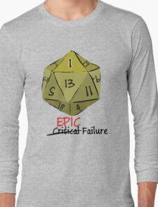 Epic Fail D20 T-Shirt
