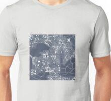 Abstract city plan Unisex T-Shirt