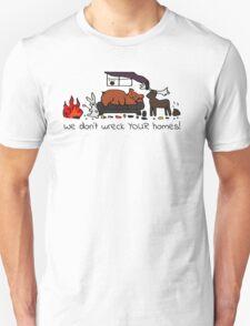 Messy House Animals Unisex T-Shirt