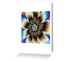 Dark Daisy Greeting Card