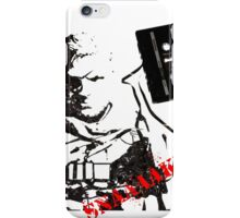 Snake - Metal Gear Solid V cassette art iPhone Case/Skin