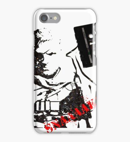 Snake - Metal Gear Solid V cassette art iPhone Case/Skin