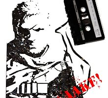 Snake - Metal Gear Solid V cassette art by tigerchurch123