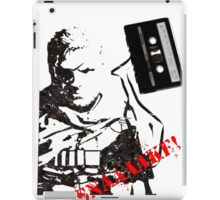 Snake - Metal Gear Solid V cassette art iPad Case/Skin