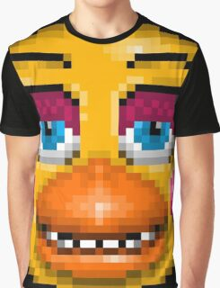 Five Nights at Freddy's 2 - Pixel art - Toy Chica Graphic T-Shirt