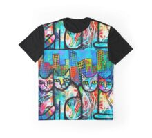 Urban Cats 2 Graphic T-Shirt