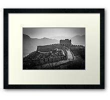 Great Wall - China Framed Print