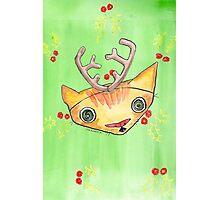 """Oro?"" Reindeer Photographic Print"