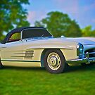 1957 Mercedes Benz 300SL Roadster by Mike Capone