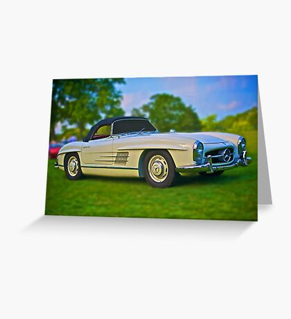 1957 Mercedes Benz 300SL Roadster Greeting Card