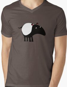 Tapir Mens V-Neck T-Shirt