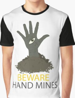 Beware of the Hand Mines 02 (Doctor Who) Graphic T-Shirt