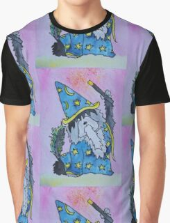 Luca The Wizard Pup Graphic T-Shirt