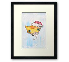 """Oro?"" Santa Framed Print"